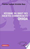 R Forme Du Droit Des Soci T S Commerciales Ohada