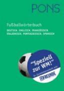 PONS Fu  ballw  rterbuch Deutsch   Englisch  Franz  sisch  Italienisch  Portugiesisch  Spanisch