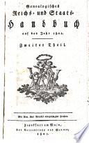 Genealogisches Reichs- und Staats-Handbuch