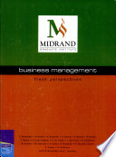 Fresh Perspectives  MGI Custom Publication  Business Management