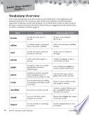 Freckle Juice Vocabulary Activities