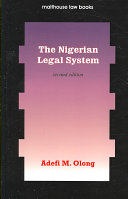 The Nigerian Legal System