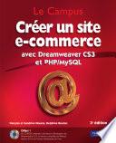 Cr  er un site e commerce avec Dreamweaver CS3 et PHP MySQL