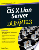 Mac OS X Lion Server For Dummies