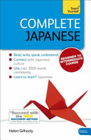 Complete Japanese  Learn Japanese with Teach Yourself
