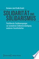 Solidarität und Solidarismus
