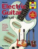 Haynes Electric Guitar Manual