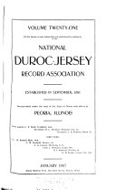 Duroc-Jersey Swine Record