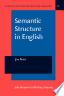 Semantic Structure in English