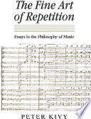 The Fine Art of Repetition