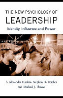 The New Psychology of Leadership Book Cover