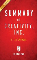 Summary of Creativity  Inc