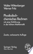 Physikalisch-chemisches Rechnen