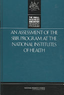 An Assessment of the SBIR Program at the National Institutes of Health