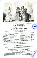 La Voisin drame en cinq actes par MM  Paul Foucher et Alboise