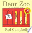 Dear Zoo Rod Campbell Cover