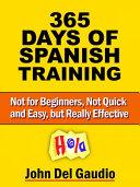 365 Days Of Spanish Training