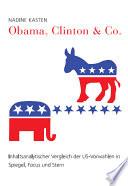Obama, Clinton & Co