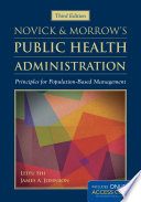 Novick & Morrow's Public Health Administration