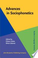 Advances In Sociophonetics book