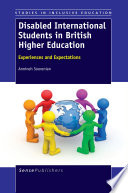 Disabled International Students in British Higher Education