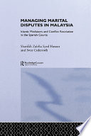 Managing Marital Disputes in Malaysia