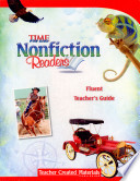 Nonfiction Readers  Fluent Teacher s Guide