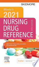 Mosby S 2021 Nursing Drug Reference E Book