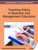 Handbook Of Research On Teaching Ethics In Business And Management Education book