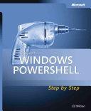 Microsoft Windows PowerShell Step by Step