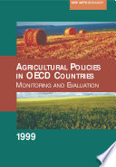 agricultural policies in oecd countries 1999 monitoring and evaluation