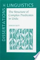 The Structure of Complex Predicates in Urdu Free download PDF and Read online