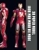 3d Paper Model Iron Man Mark Vii Mode