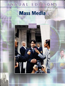 Annual Editions: Mass Media 07/08