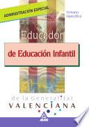 Educador Infantil de la Generalitat de Valencia  Temario