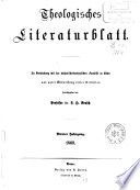 Theologisches Literaturblatt