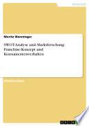 SWOT-Analyse und Marktforschung: Franchise-Konzept und Konsumentenverhalten