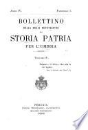 Bollettino della Deputazione di storia patria per l Umbria