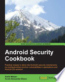 Android Security Cookbook