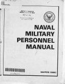Naval Military Personnel Manual