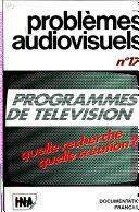 Probl  mes audiovisuels