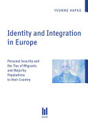 Identity and Integration in Europe