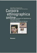 Corpora Ethnographica Online