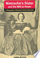 Nietzsche s Sister and The Will to Power