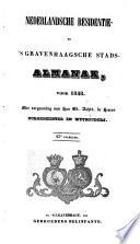 Nederlandsche residentie- en 's Gravenhaagsche stads-almanak voor ....