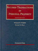 Secured Transactions In Personal Property book