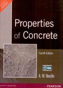 Properties Of Concrete 4 E