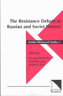 The Resistance Debate in Russian and Soviet History