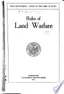 Rules of Land Warfare Book PDF