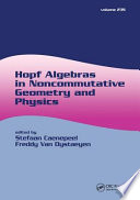 Hopf Algebras in Noncommutative Geometry and Physics